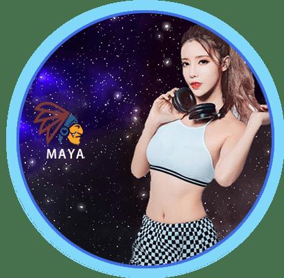瑪雅真人館-輪盤